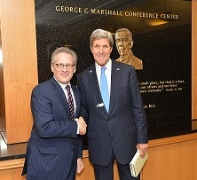 Stew Friedman with Secretary Kerry